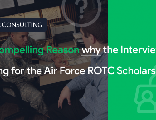 #1 Compelling Reason Why the Interview is King for the Air Force ROTC Scholarship