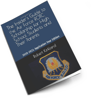 Insider's guide to air force rotc scholarships book cover