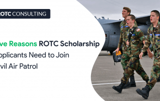 Five Reasons ROTC Scholarship Applicants Need to Join Civil Air Patrol Blog Post Title