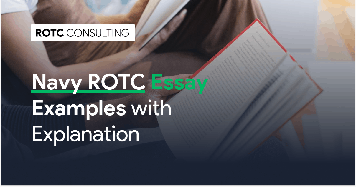 Navy ROTC Essay Examples with Explanation Blog Post Title
