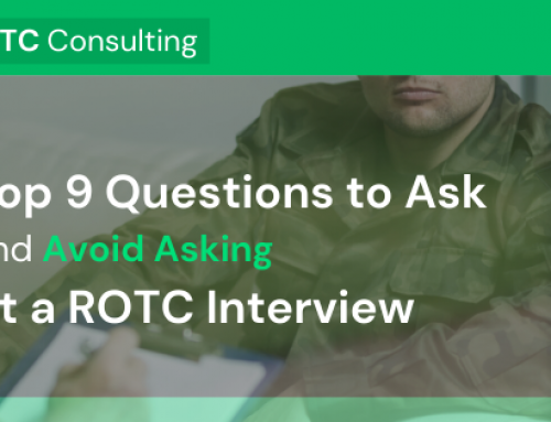 Top Nine Questions to Ask (and Avoid Asking) at an ROTC Interview