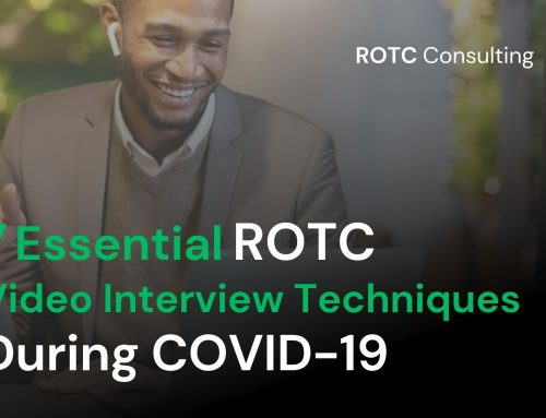 Seven Essential ROTC Video Interview Techniques during COVID-19