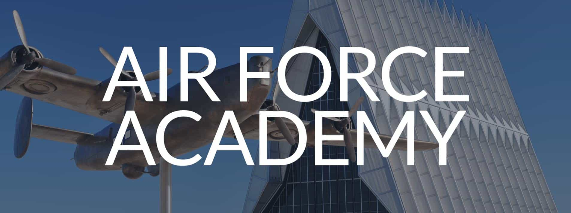 Air Force Academy page button
