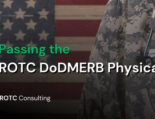 Passing the ROTC DoDMERB Physical
