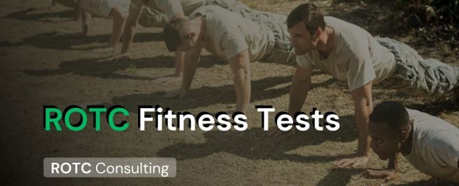 ROTC Fitness Tests Blog Post Title Graphic