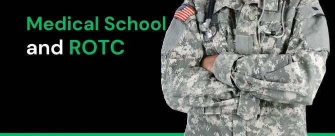 Medical School and ROTC Becoming a Doctor Blog Post Graphic