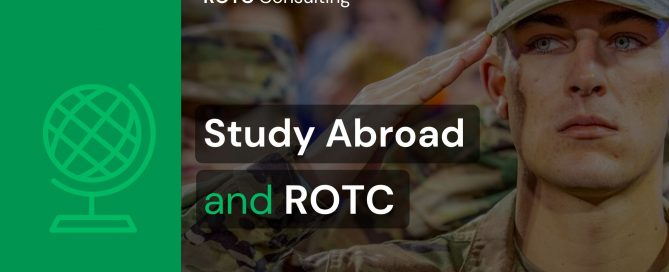 Blog Post Graphic for Study Abroad and ROTC